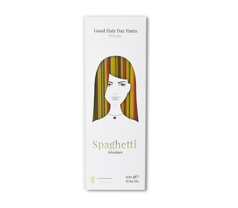 Greenomic - good hair day spaghetti tricolore