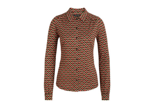King Louie King Louie - blouse residence - berry red