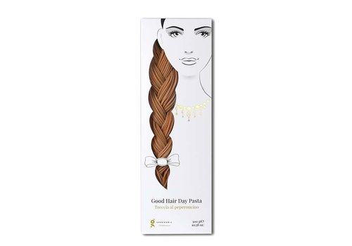Greenomic Greenomic - good hair day pasta - treccia al peperoncino