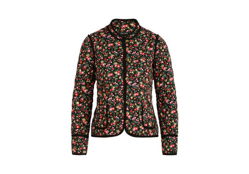 King Louie King Louie - mia quilted jacket buttercup - black