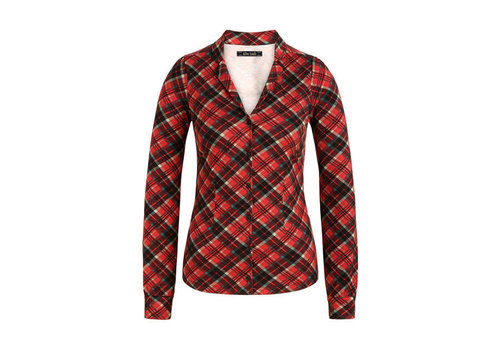 King Louie King Louie - patty blouse chatham - icon red