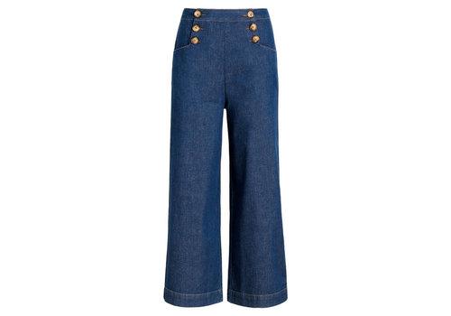 King Louie King Louie - sheila pants chambray - denim blue