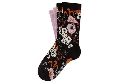 King Louie King Louie - sokken bloomsburry - black