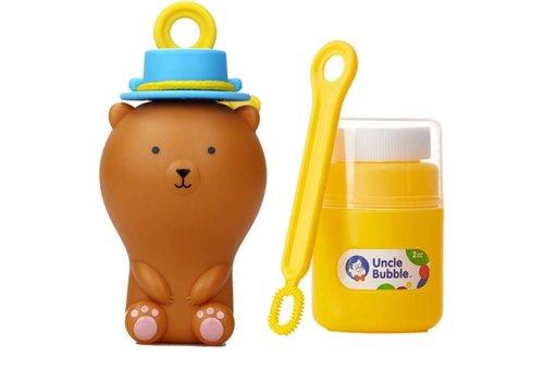 Uncle Bubble Uncle Bubble - fun anti-spill pals - brown bear