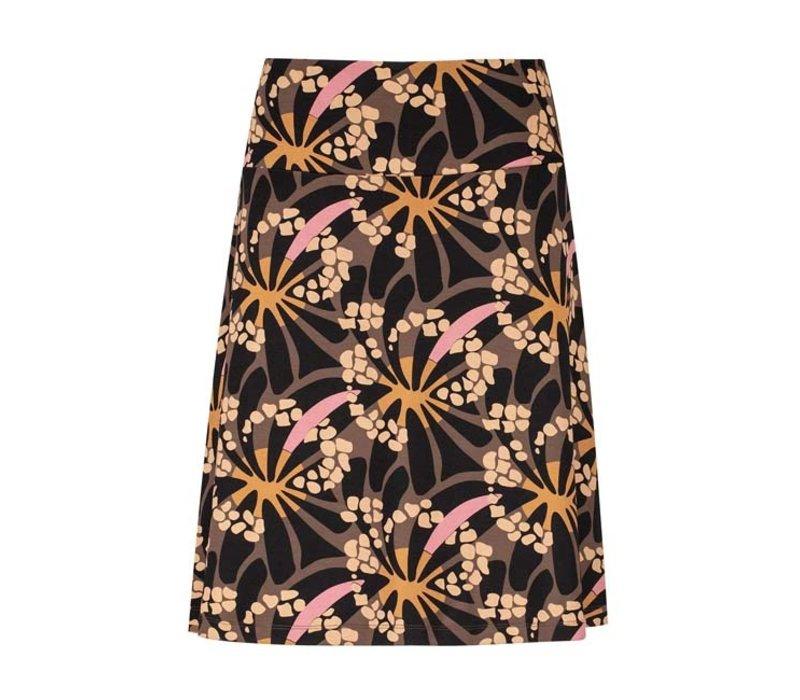 Zilch - skirt a-line - hippy marron