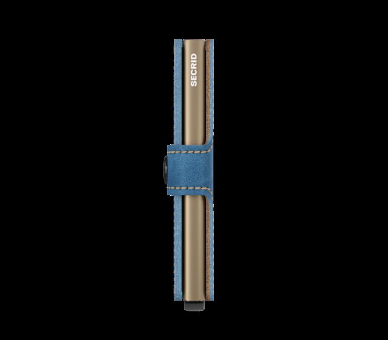 Secrid - miniwallet - indigo 3 sand