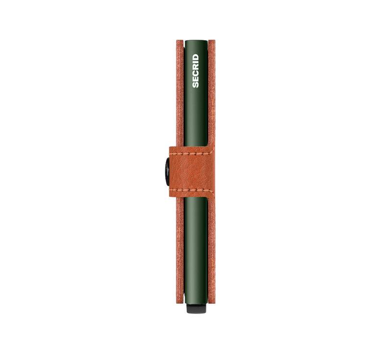 Secrid - miniwallet - veg caramello green