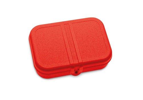 Koziol Koziol - lunchbox pascal L (met compartiment) - organic red