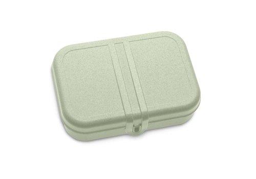 Koziol Koziol - lunchbox pascal L (met compartiment)- organic green