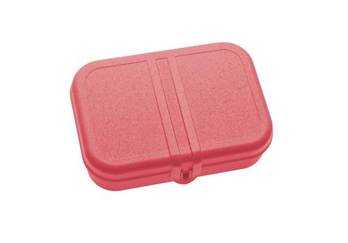 Koziol Koziol - lunchbox pascal L (met compartiment) - organic coral