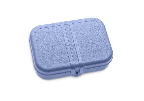 Koziol Koziol - lunchbox pascal L (met compartiment) - organic  deepblue