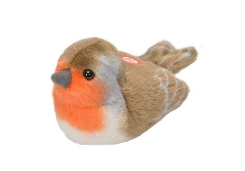 Wild republic Wild republic - vogel met geluid - roodborst