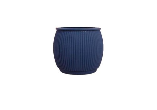 Living by Colors Living by colors - silicone bloempot chubby - navy blue