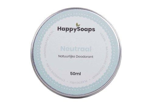 HappySoaps Happysoaps - natuurlijke deodorant - neutraal