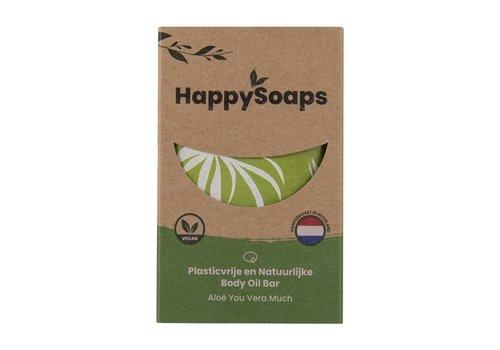 HappySoaps Happysoaps - natuurlijke body oil bar - aloë you vera much