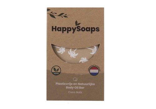 HappySoaps Happysoaps - natuurlijke body oil bar - coco nuts (70g)