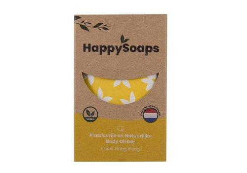 HappySoaps Happysoaps - natuurlijke body oil bar - ylang ylang (70g)