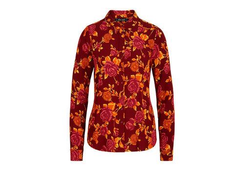 King Louie King Louie - rosie blouse doherty - merlot brown