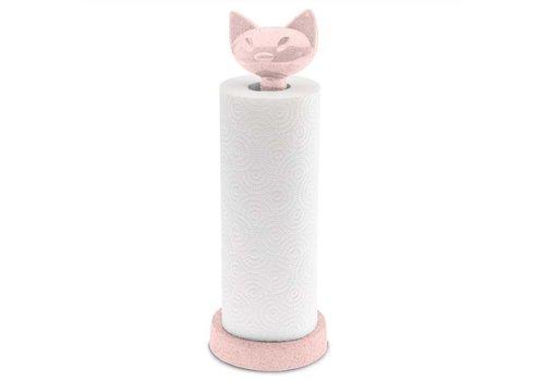 Koziol Koziol - keukenrolhouder miao - organic pink