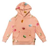 Snurk - hoodie kids - macarons pink