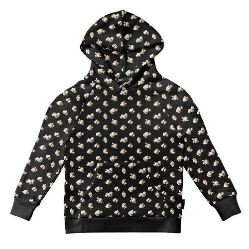 Snurk - hoodie kids - popcorn polka