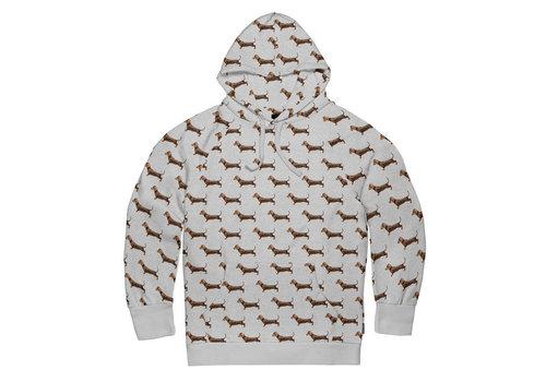 Snurk Snurk - hoodie men - james grey