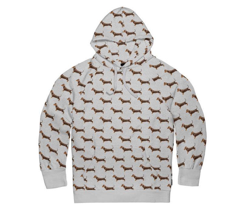 Snurk - hoodie men - james grey