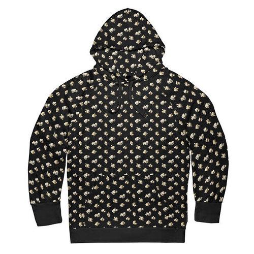 Snurk - hoodie men - popcorn polka