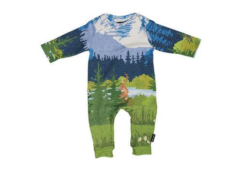 Snurk Snurk - jumpsuit babies - across the alps