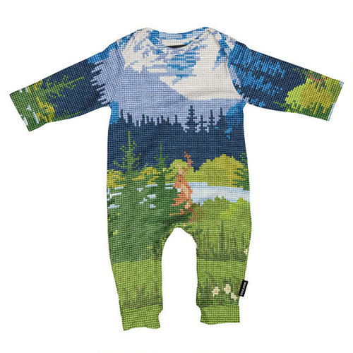 Snurk - jumpsuit babies - across the alps