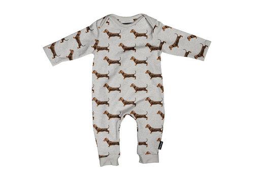 Snurk Snurk - jumpsuit babies - james grey