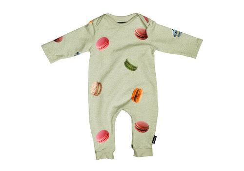 Snurk Snurk - jumpsuit babies - macarons green