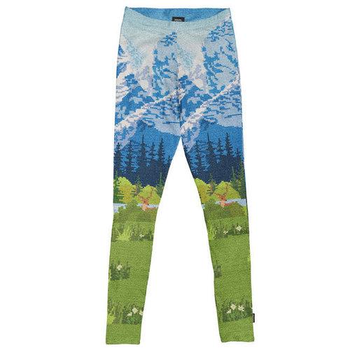 Snurk - legging women - across the alps