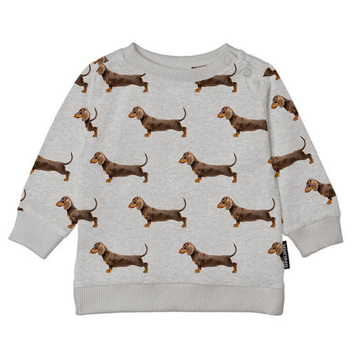 Snurk - sweater babies - james grey