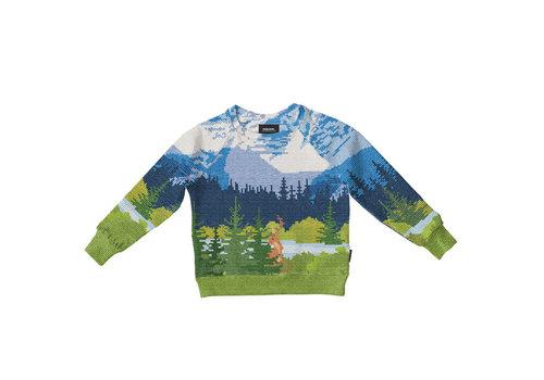 Snurk Snurk - sweater kids - across the alps