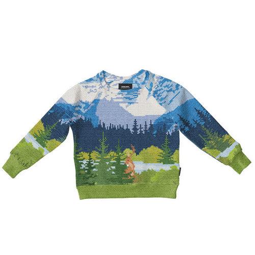 Snurk - sweater kids - across the alps