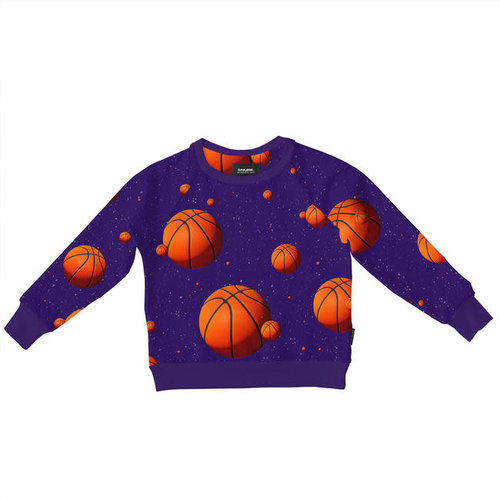 Snurk - sweater kids - basketball stars