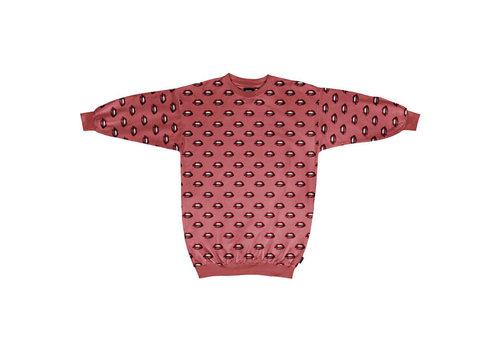 Snurk Snurk - sweater dress women - kiss kiss
