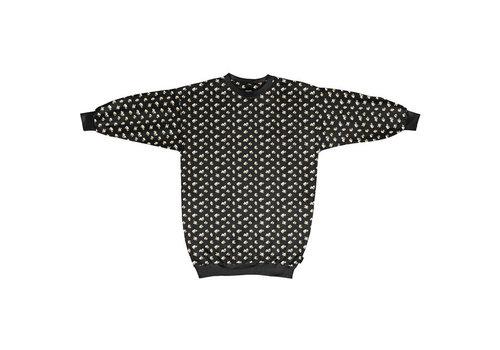 Snurk Snurk - sweater dress women - popcorn polka