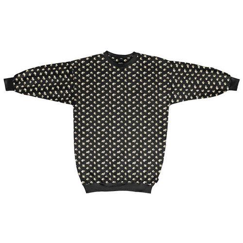 Snurk - sweater dress women - popcorn polka