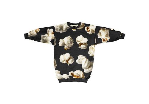 Snurk Snurk - sweater dress women - popcorn polka big