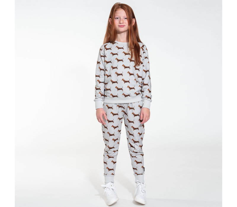Snurk - sweater kids - james grey