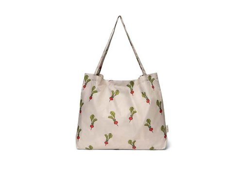 Studio Noos Studio Noos - grocery bag - radish