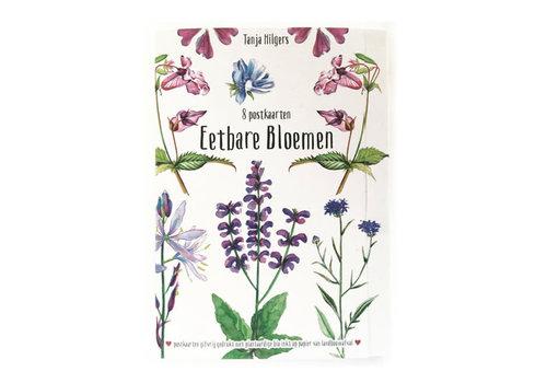 Tanja Hilgers Tanja hilgers - eetbare bloemen - set van 8 kaarten