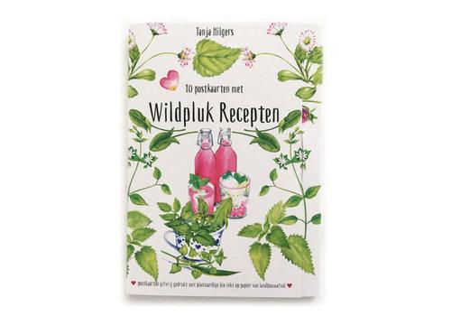 Tanja Hilgers Tanja hilgers - wildpluk recepten - set van 10 kaarten