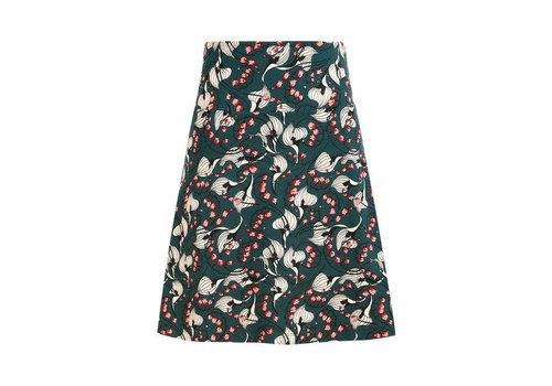 King Louie King Louie - border skirt calla - pine green
