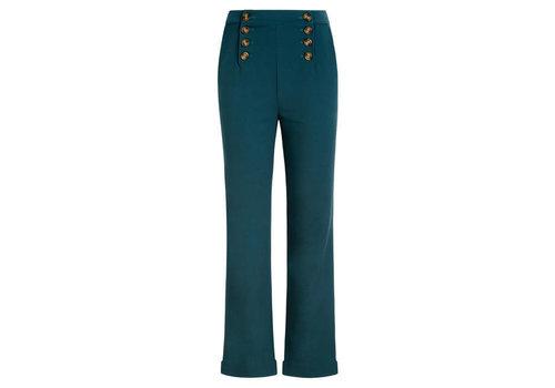 King Louie King Louie - lara sailor pants broadway - dragonfly green