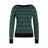 King Louie King Louie - audrey top craft - peacock green