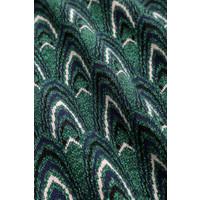 King Louie - audrey top craft - peacock green
