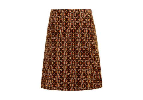 King Louie King Louie - border skirt honeycomb - black